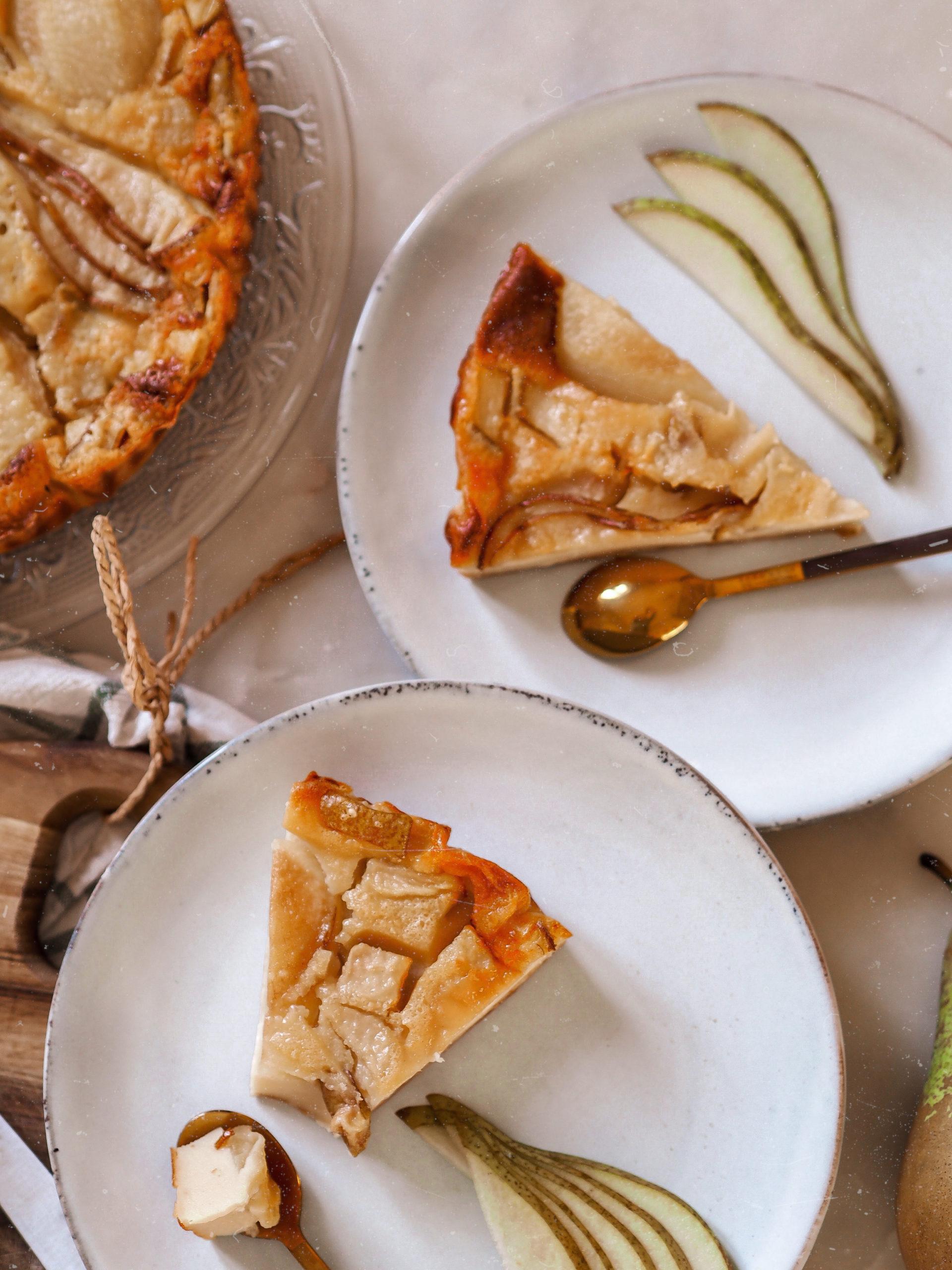 Clafoutis aux poires et à la vanille